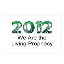 2012 Living Prophecy Postcards (Package of 8)