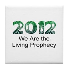 2012 Living Prophecy Tile Coaster