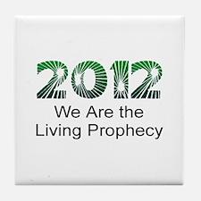 2012 Living Prophecy Tile Coaster