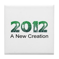 2012 New Creation Tile Coaster