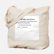 pickleball definition Tote Bag
