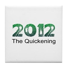 2012 Quickening Tile Coaster