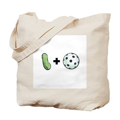 Pickle + Ball Tote Bag