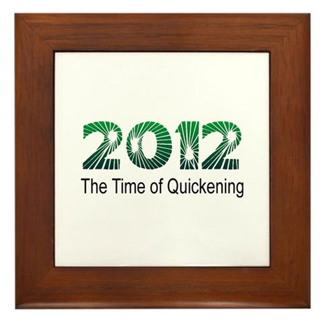 2012 Quickening Framed Tile