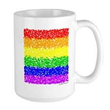 Impressionist Rainbow Gay Pride Mug