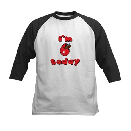 6th Birthday Kids Baseball Jersey