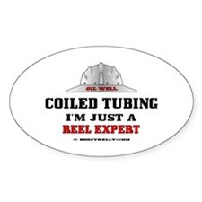 Coiled Tubing Oval Decal