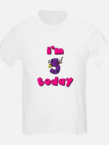 Purple 5th Birthday T-Shirt