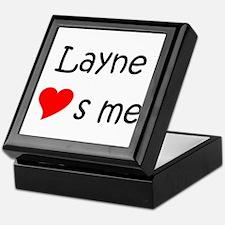 Unique Layne Keepsake Box