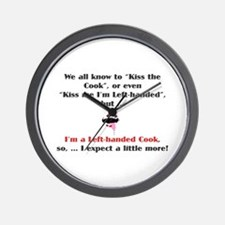 LH Cook Wall Clock