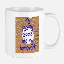 Pygmy Goats Ate My Homework Small Mugs