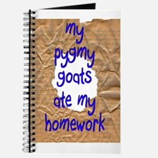 Pygmy Goats Ate My Homework Journal