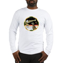 XmasDove/Greyhound Long Sleeve T-Shirt