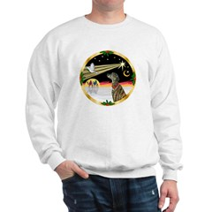 XmasDove/Greyhound Sweatshirt