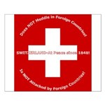 Swiss Cross/Peace Small Poster