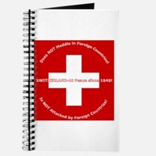 Swiss Cross/Peace Journal
