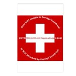 Swiss Cross/Peace Postcards (Package of 8)