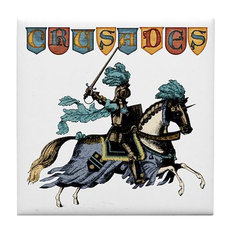Crusades Tile Coaster