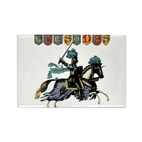 Crusades Rectangle Magnet