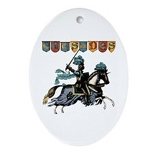 Crusades Oval Ornament