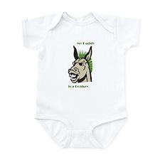 Cute Daddy donkey Infant Bodysuit