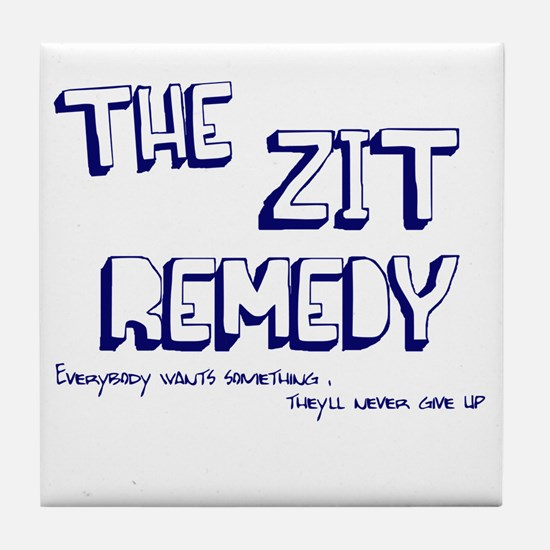Zit Remedy Tile Coaster