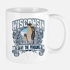 Save the Penguin Wisconsin Mug