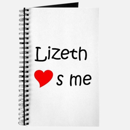 Cool Lizeth Journal