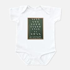 Theban ABCs Infant Creeper