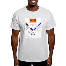 JH Game Shirt Ash Grey T-Shirt