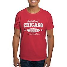 Property of Chicago Italiana T-Shirt
