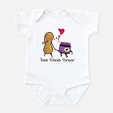 PB & J Forever Infant Bodysuit