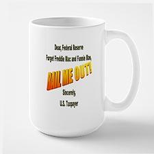 For Government Large Mug