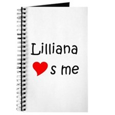 Cool Lilliana Journal