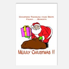 Santa's Surprise Postcards (Package of 8)