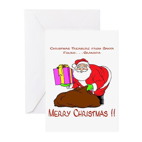 Santa's Surprise Greeting Cards (Pk of 10)
