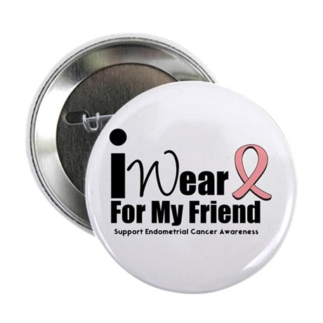 "Endometrial Cancer 2.25"" Button (10 pack)"