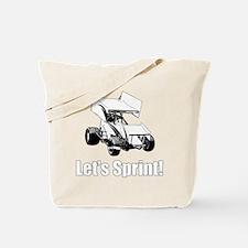 Let's Sprint! Tote Bag