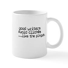 Avoid clichés like the plague Small Mug