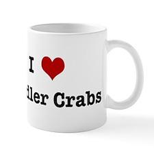 I love Fiddler Crabs Mug