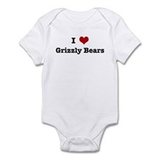 I love Grizzly Bears Infant Bodysuit