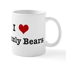 I love Grizzly Bears Mug