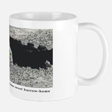Burrowing owl burrow Mug