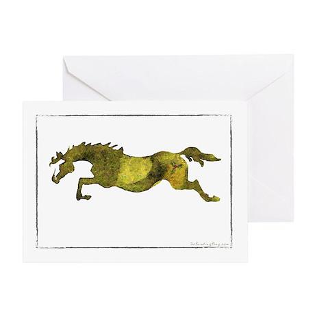 Christmas Horse Greeting Card