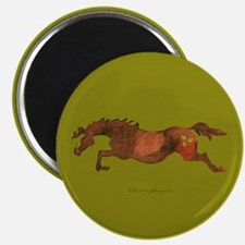 Christmas Horse Magnet