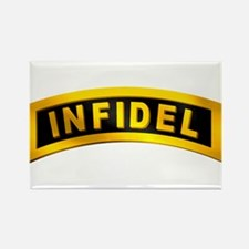 Infidel Tab Rectangle Magnet
