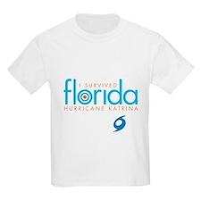 I Survived Hurricane Katrina Kids T-Shirt