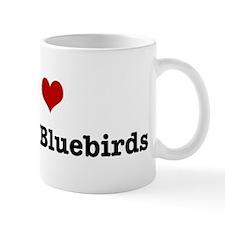 I love Eastern Bluebirds Mug
