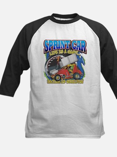 Sprint Car Life Kids Baseball Jersey