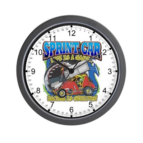 Sprint Car Life Wall Clock
